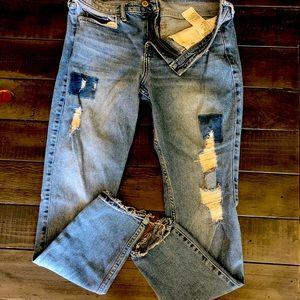 Hollister jeans Women's 7R 28x30 vintage stretch